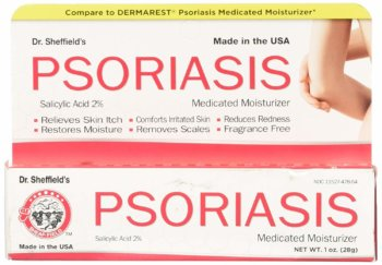 Dr. Sheffield's Psoriasis Medicated Moisturizer Skin Cream